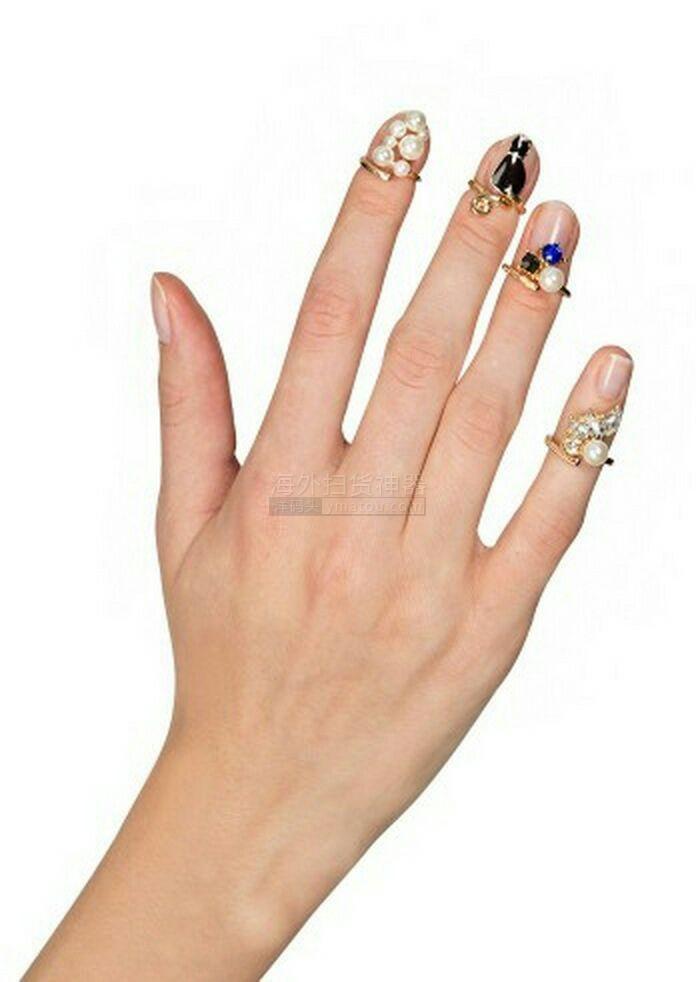 晶亮视频戒指,甲油v视频,不用胡搞大小啦!一染指指甲吧图片