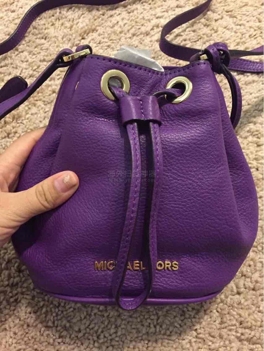 MK真皮迷你水桶包。特价折上折。1080直邮。