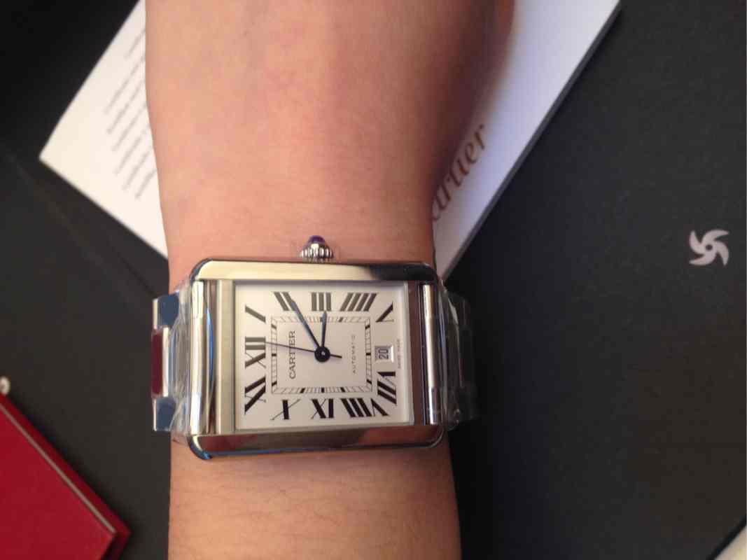 卡地亚Cartier TANK系列机械男表 W5200028