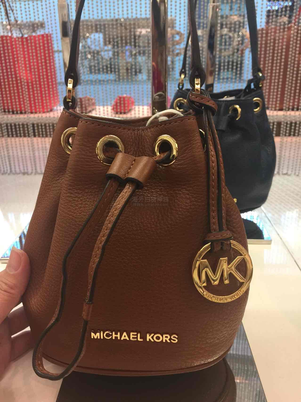 MK 迷你水桶包,折上折。价格不等人咯! 藏蓝色
